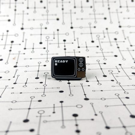 BASIC READY PCB Lapel Pin